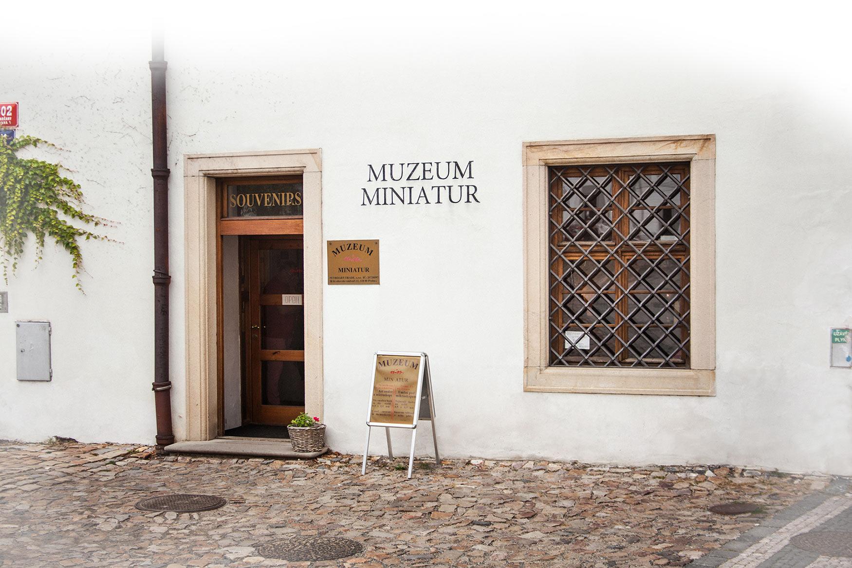 Muzeum miniatur v Praze